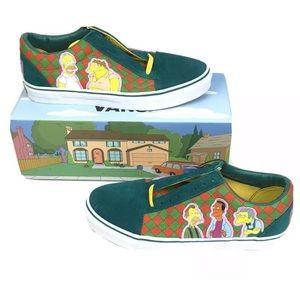 Vans Old Skool x The Simpsons Moes Mens Size 10.5
